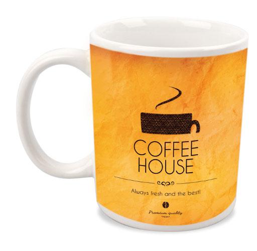 Mug caffe' con sublimazione