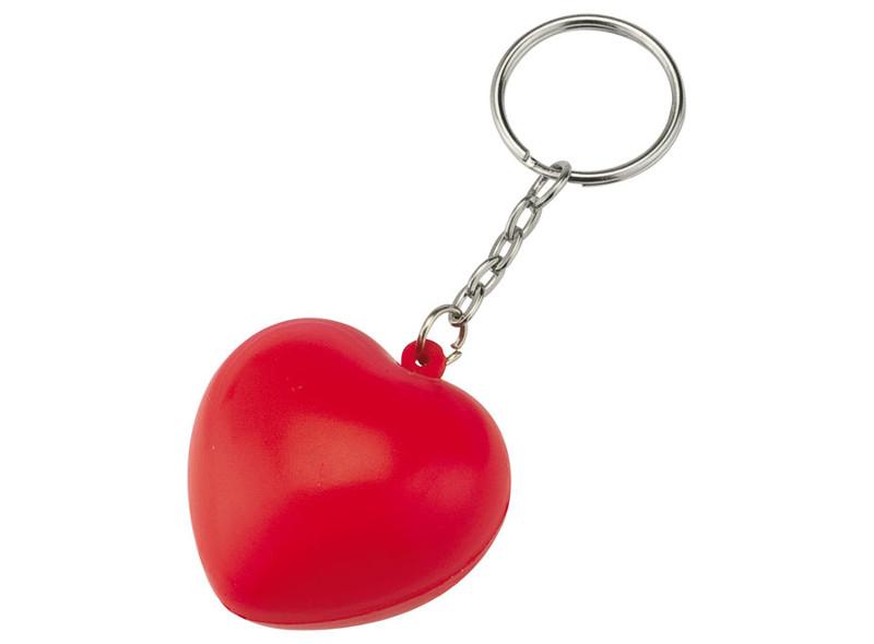 Portachiavi cuore antistress
