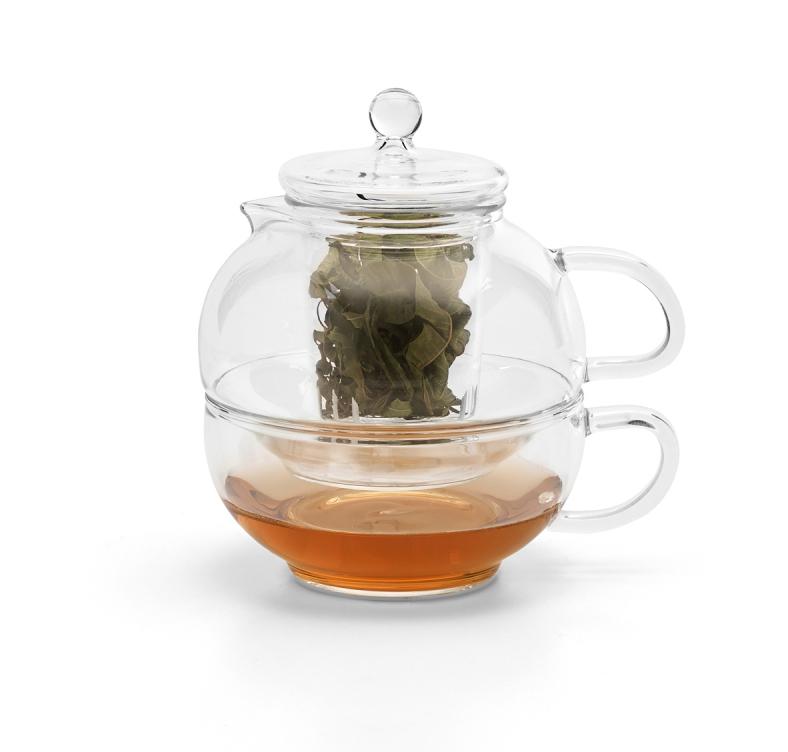 Teiera con tazza