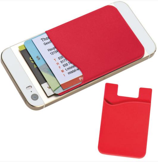 060b07fe26e775 Porta carte di credito in silicone Personalizzato