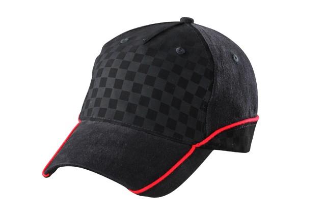 Cappello racing goffrato