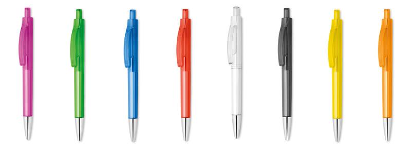 Penna con fusto trasparente