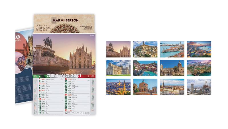 Calendario Citta' d'Italia