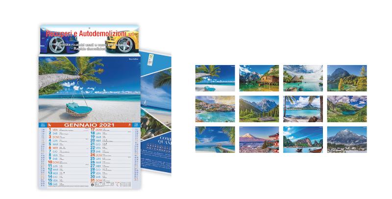 Calendario Paesaggi