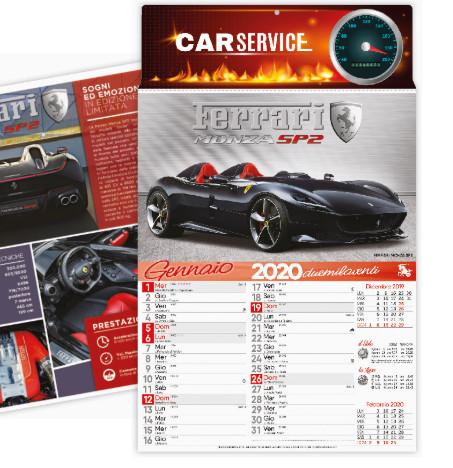 Calendario Auto.Calendario Auto Sportive Personalizzato
