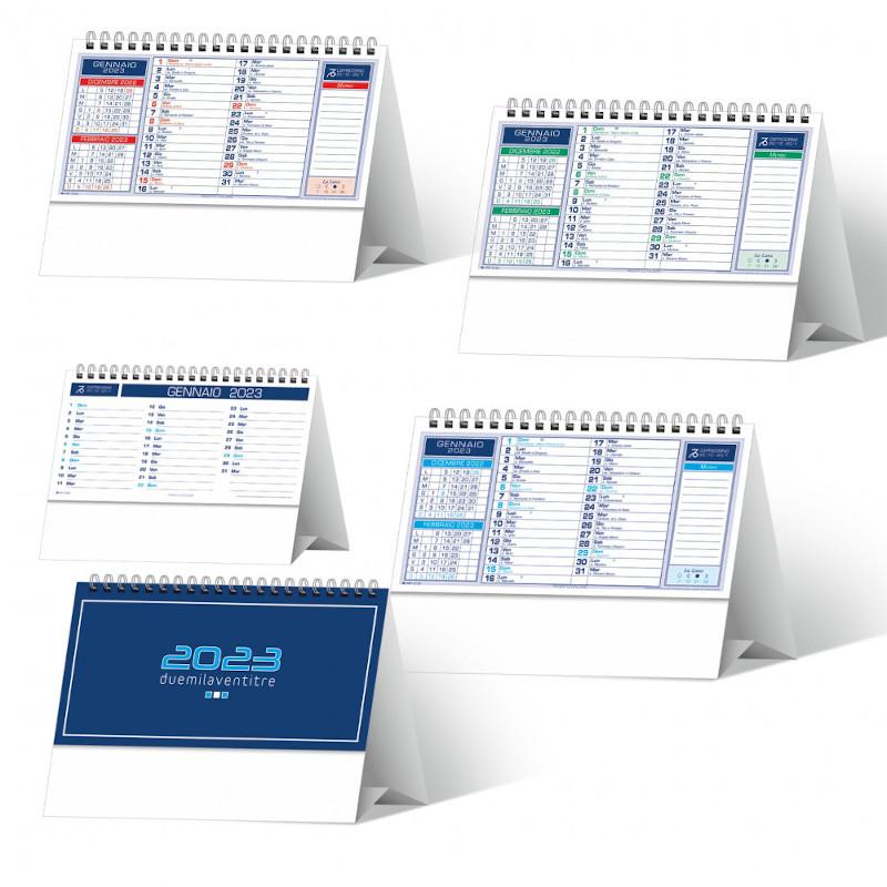 Calendario tavolo basic