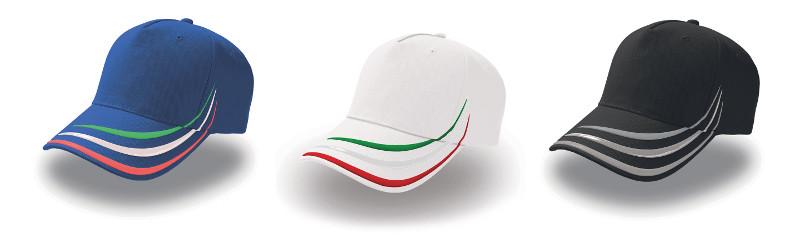 Cappellino tricolore