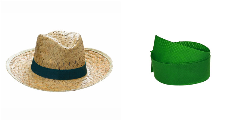 Cappello sombrero nastro compreso