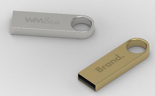 Chiavetta USB in metallo