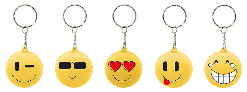 Portachiavi antistress emoji