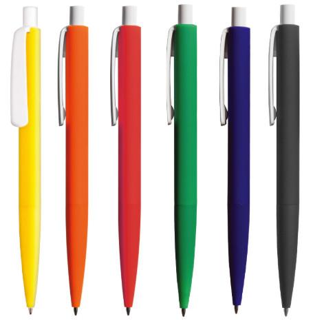 Penna in plastica gommata