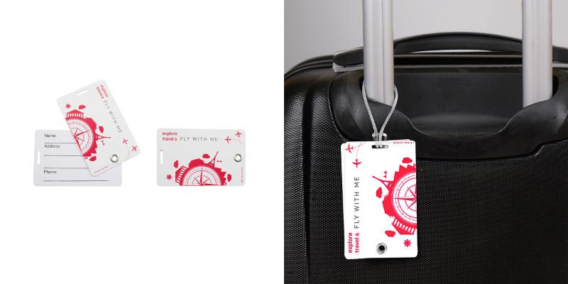 Etichetta per il bagaglio
