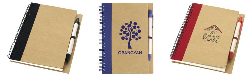 Notebook in carta riciclata
