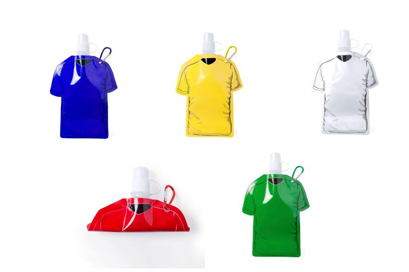Borraccia flessibile a forma di t-shirt