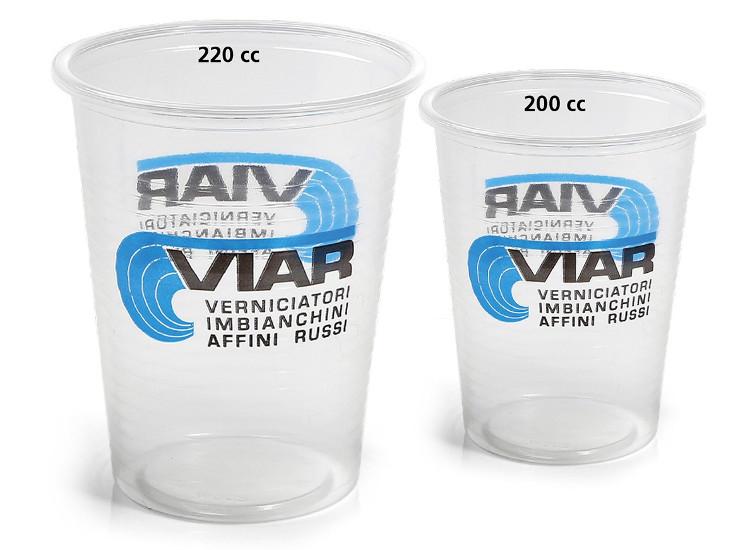 Bicchiere in plastica