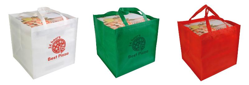 Shopper in TNT da pizza