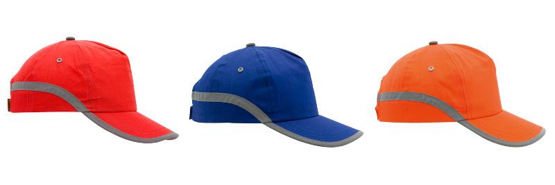 Cappellino catarifrangente