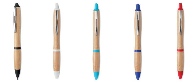 Penna a sfera bambu'