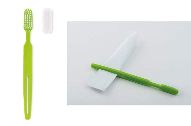 Spazzolino da denti con spremitubo