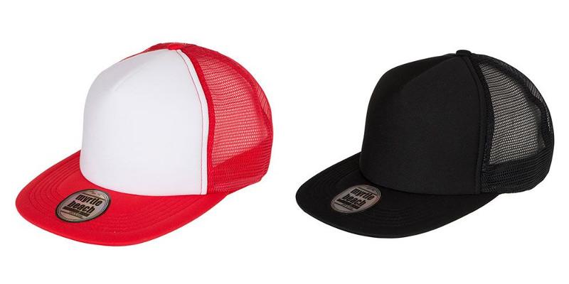 Cappellino visiera piatta