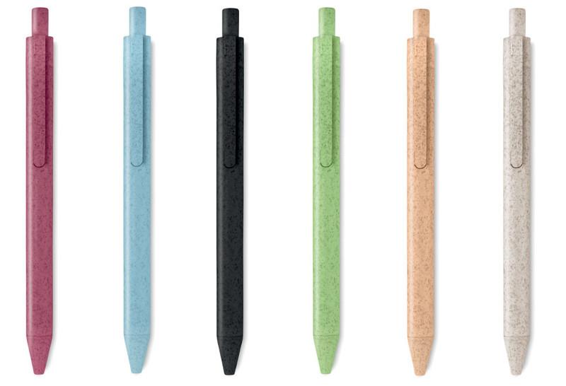 Penna in materiale di paglia