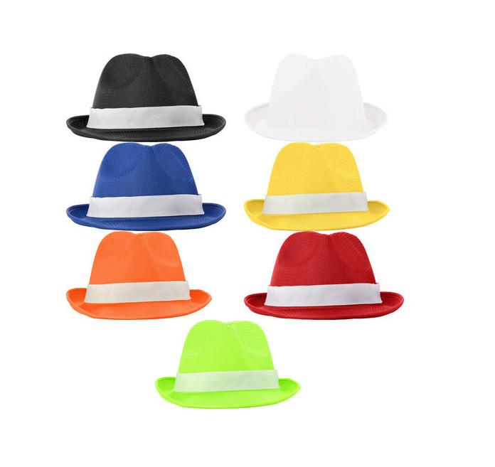 Cappello classico con fascia decorativa