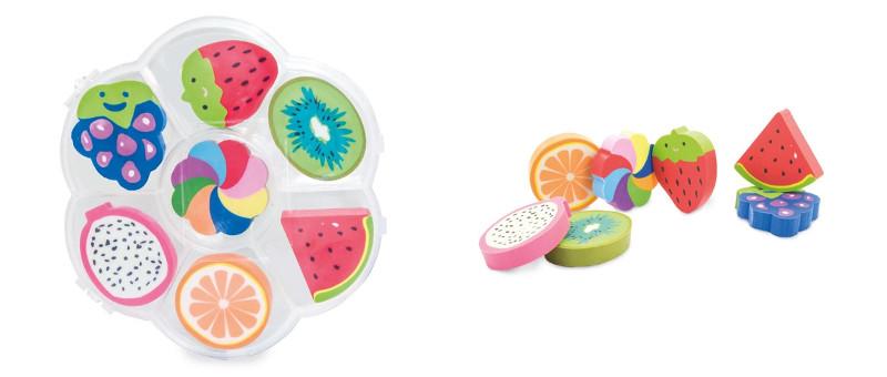 Set gomme frutta
