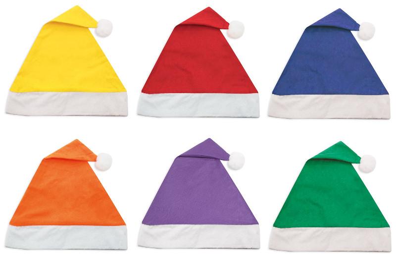 Cappello natalizio in vari colori