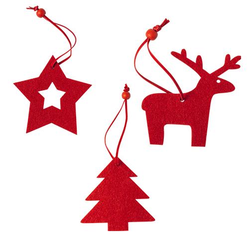 Set di 3 figure natalizie