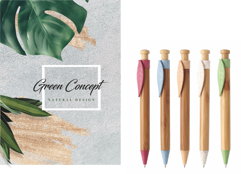 Penna  in bambu'