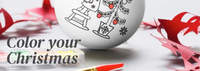 Pallina di Natale  da colorare