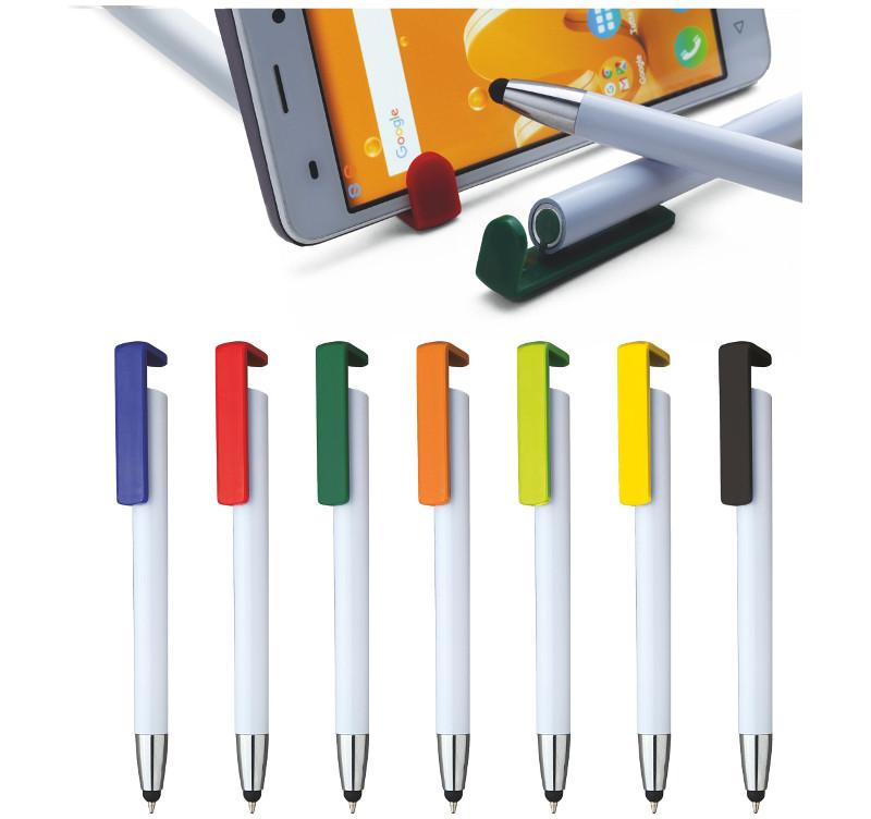 Penna  touch con supporto cellulare