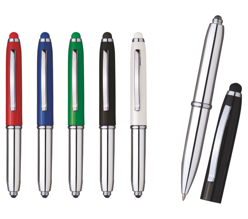 Penna touch con led