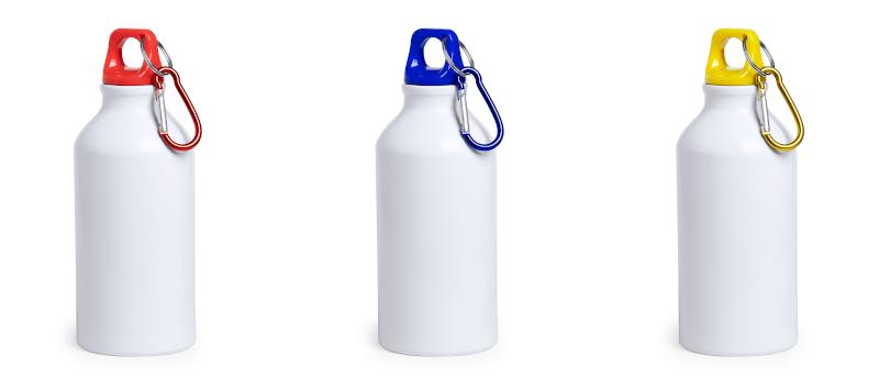 Borraccia bianca da 400 ml