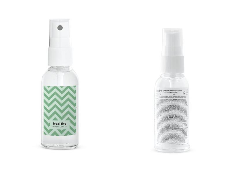 Spray igienizzante per superfici