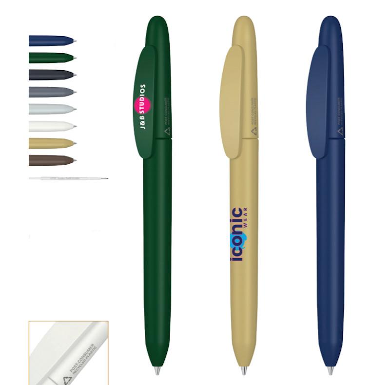 Penna in plastica riciclata