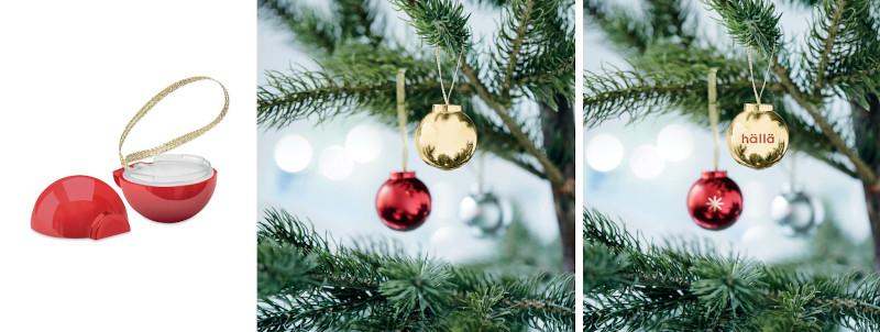 Burro di cacao palla di Natale