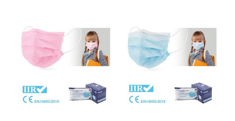 Mascherina chirurgica bambini