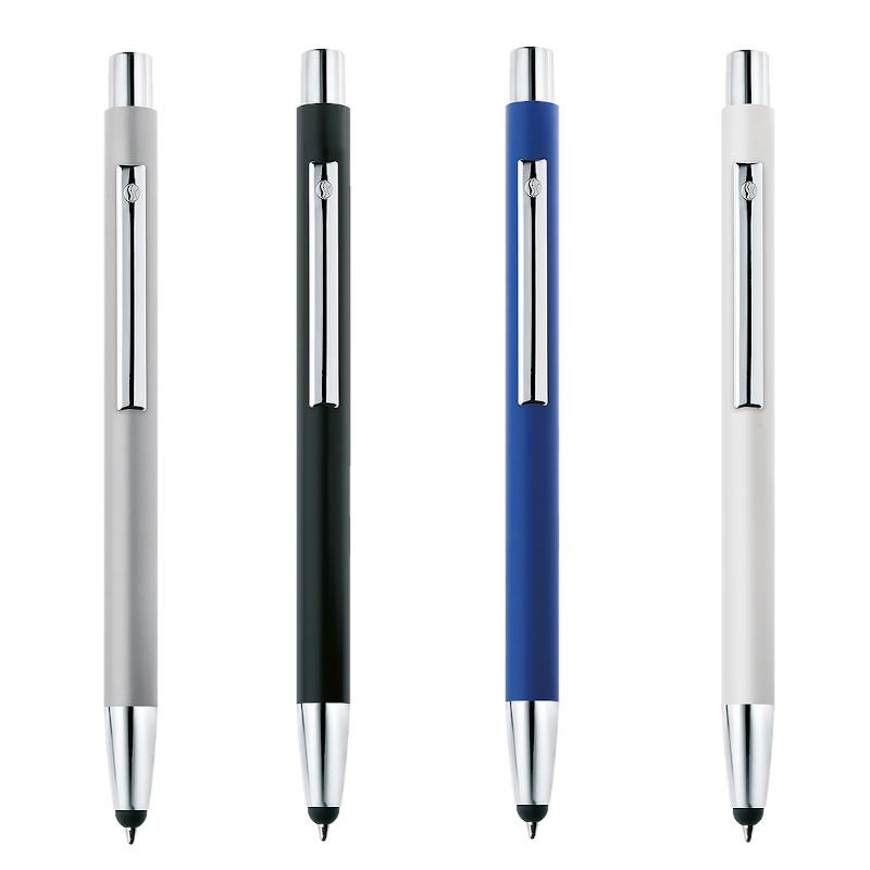 Penna con touch sulla punta