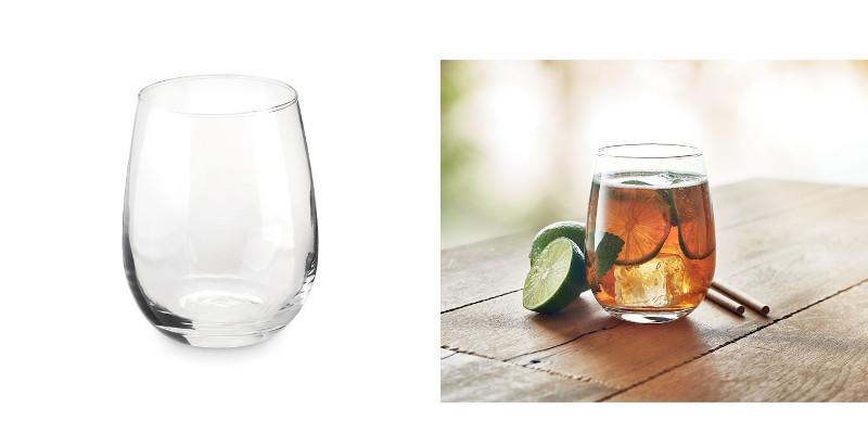 Bicchiere in vetro da 420 ml